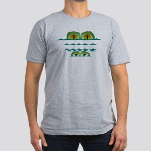 Big Croc Men's Fitted T-Shirt (dark)
