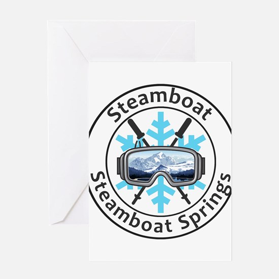Steamboat Ski Resort - Steamboat Greeting Cards
