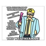The Weatherman Small Poster