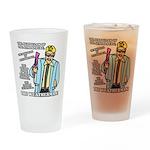 The Weatherman Drinking Glass