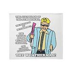 The Weatherman Throw Blanket