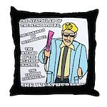 The Weatherman Throw Pillow