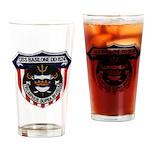 USS BASILONE Drinking Glass