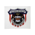 USS BASILONE Throw Blanket