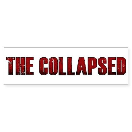 The Collapsed Sticker (Bumper 50 pk)