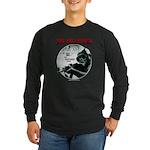 The Collapsed Long Sleeve Dark T-Shirt