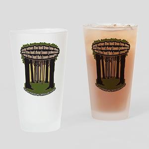 The Last Tree Drinking Glass