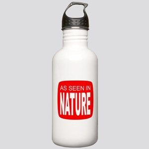 As Seen in Nature Stainless Water Bottle 1.0L