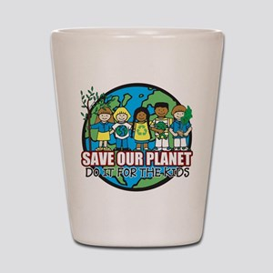 Save Our Planet Shot Glass