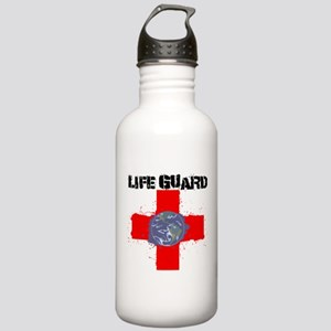 Life Guard Earth Stainless Water Bottle 1.0L
