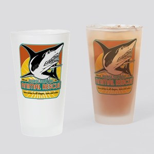 Animal Rescue Shark Drinking Glass