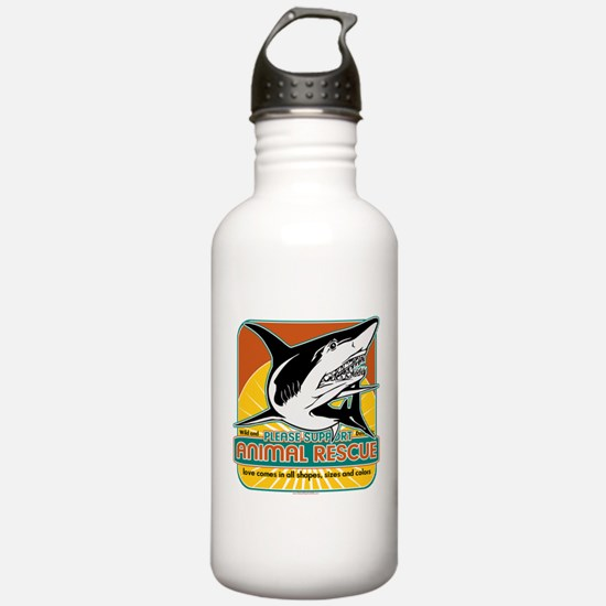 Animal Rescue Shark Water Bottle