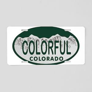 Colorful Colo License Plate Aluminum License Plate