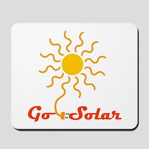 Go Solar Mousepad
