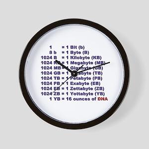"""DNA Magnitude"" Wall Clock"