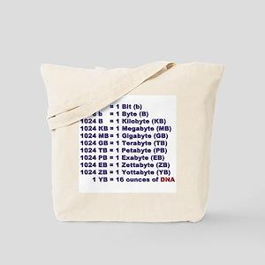 """DNA Magnitude"" Tote Bag"