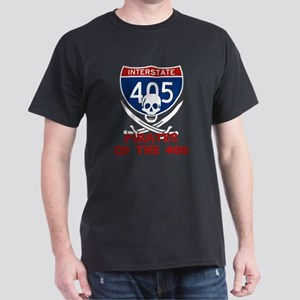 Pirates of the 405 Dark T-Shirt