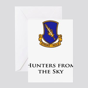 504- Hunters from the Sky Greeting Card