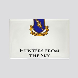 504- Hunters from the Sky Rectangle Magnet
