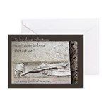 New! Deep in History Greeting Cards (Pk of 10)