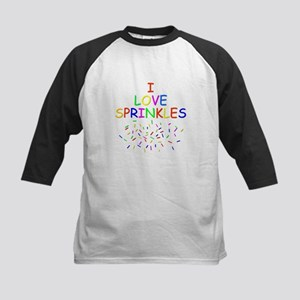I love Sprinkles Kids Baseball Jersey