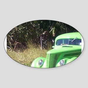 car Sticker (Oval)