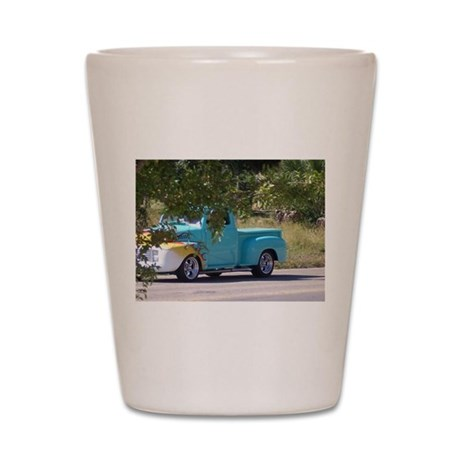 Old Truck Shot Glass