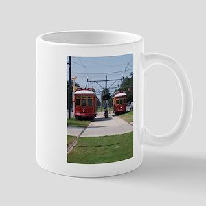 Red Streetcar Mug