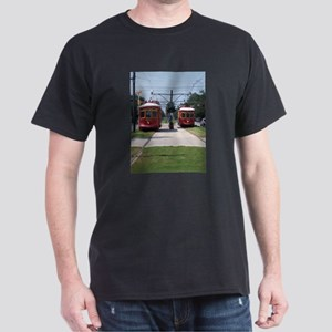 Red Streetcar Dark T-Shirt