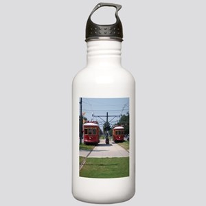 Red Streetcar Stainless Water Bottle 1.0L