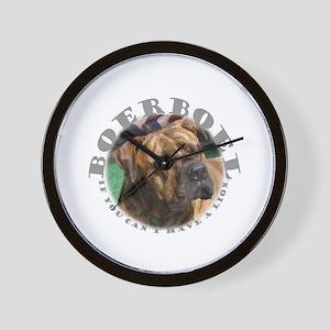 No Lion? Wall Clock