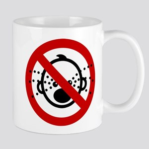 Funny NO Cry Babies Sign Mug