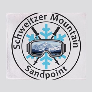 Schweitzer Mountain - Sandpoint - Throw Blanket