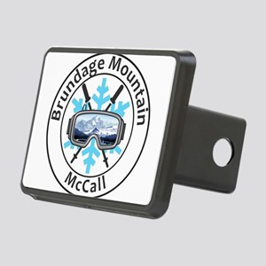 Brundage Mountain - McCa Rectangular Hitch Cover