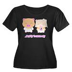 wedding Women's Plus Size Scoop Neck Dark T-Shirt
