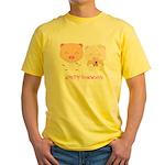 wedding Yellow T-Shirt