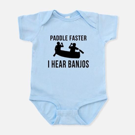 Paddle Faster I Hear Banjos Infant Bodysuit