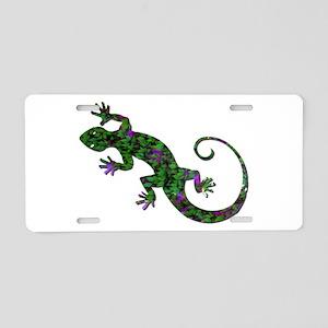 Ivy Green Gecko Aluminum License Plate
