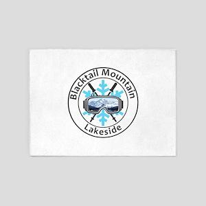 Blacktail Mountain - Lakeside - M 5'x7'Area Rug