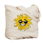 Smiley Face Sun Tote Bag