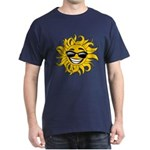 Smiley Face Sun Dark T-Shirt