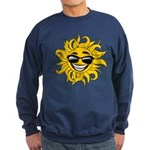 Smiley Face Sun Sweatshirt (dark)