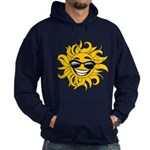 Smiley Face Sun Hoodie (dark)