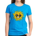 Smiley Face Sun Women's Dark T-Shirt