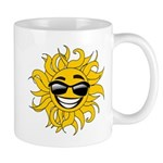 Smiley Face Sun Mug