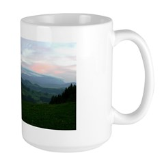 Appenzell Switzerland at Dusk - Large Mug