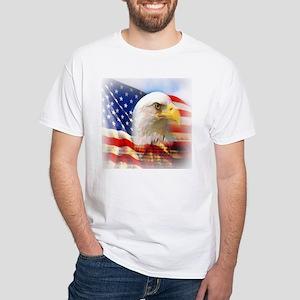 Patriotic White T-Shirt