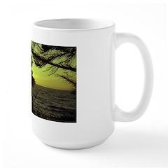 Sunset over Puget Sound -Large Mug