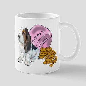 guilty basset puppy Mug