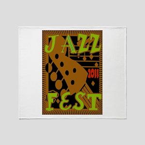 Jazz Fest 2011 Throw Blanket